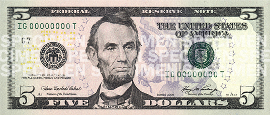 New 5 Bill Unveiled