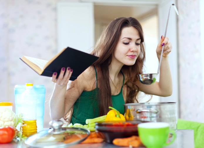 как научиться готовить еду видео