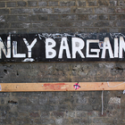 only bargains sign