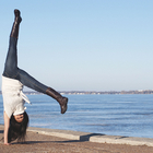 woman handstand