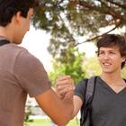 friends handshake