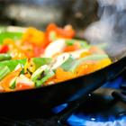 stir-fry cooking