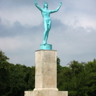 Sunsinger statue in Allerton Park