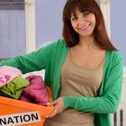 woman donations