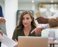 Woman making rookie mistakes after becoming the boss