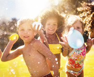 Kids paticipating in cheap summer activities this weekend