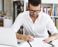 Man learning if it's ever okay to cosign a loan