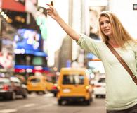 Woman making sense of ridesharing prices