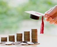 Woman saving for education
