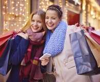 Women learning why Black Friday craziness is worth it