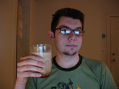 Third, one of my favorite drinks, a White Russian.  For those of you...