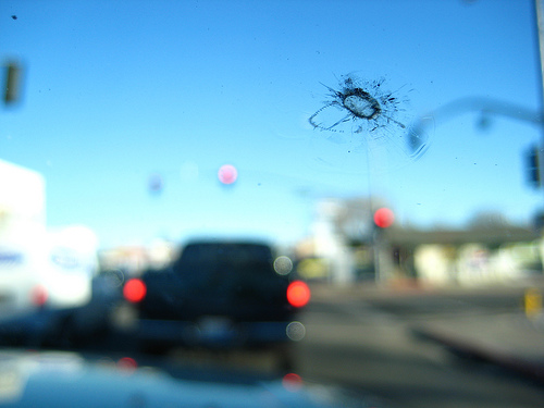 crack in windshield