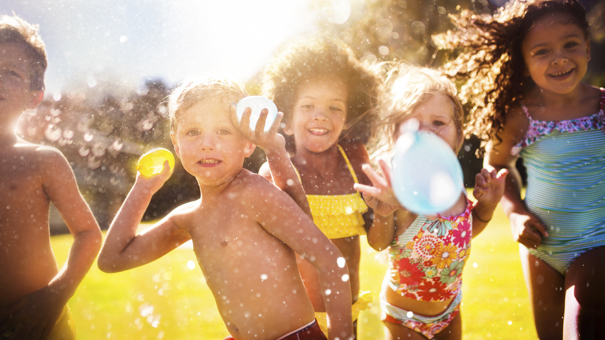 Flashback friday 143 fun and frugal ways to spend your for Fun things to do with water balloons