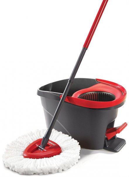Beautiful The O Cedar EasyWring Microfiber Spin Mop And Bucket Floor Cleaning System  Is Amazonu0027s #1 Best Seller In Commercial Wet Mops And Amazonu0027s Choice For  Mops.