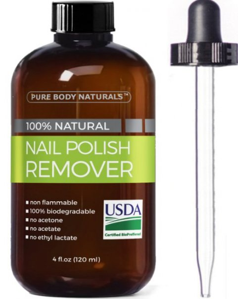 If You Re Looking For An All Natural Nontoxic Way To Remove Polish Then The Pure Body Naturals Nail Remover Is Perfect