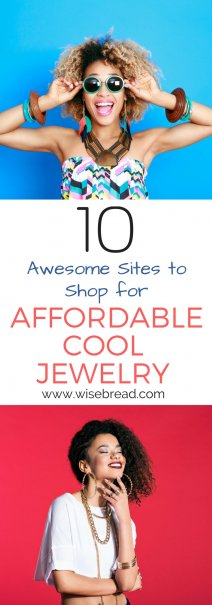 10 Awesome Sites to Shop for Affordable, Cool Jewelry