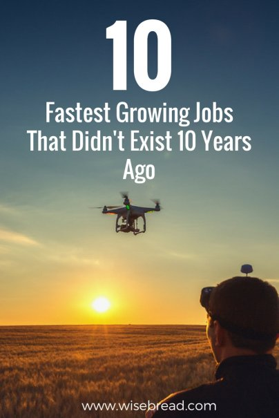 10 Fastest Growing Jobs That Didn't Exist 10 Years Ago