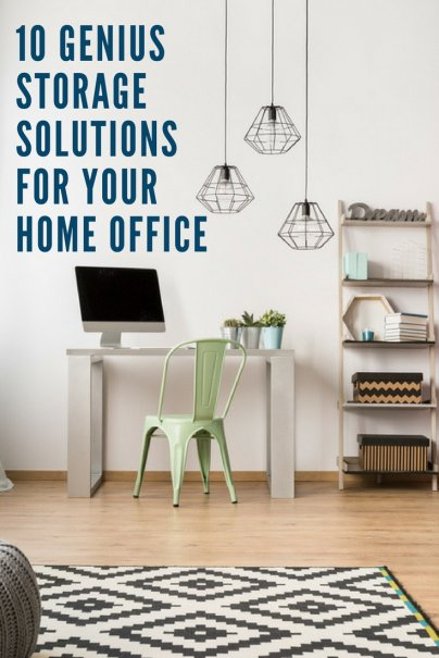 10 Genius Storage Solutions for Your Home Office