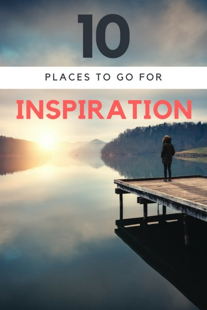 10 Places to Go for Inspiration