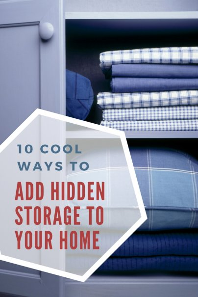 10 Super-Cool Ways to Add Hidden Storage to Your Home