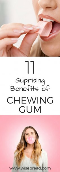 11 Surprising Benefits Of Chewing Gum