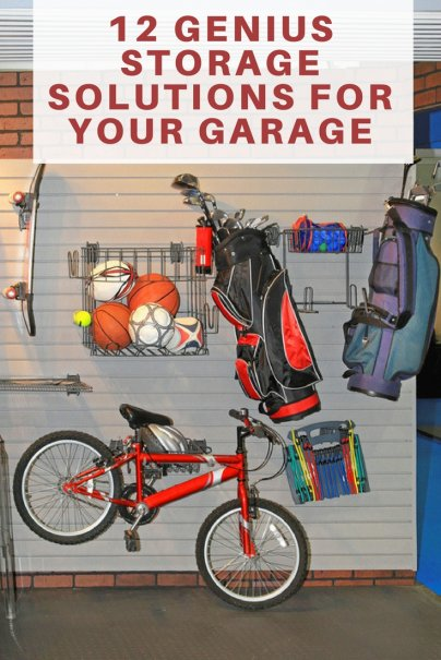 12 Genius Storage Solutions for Your Garage
