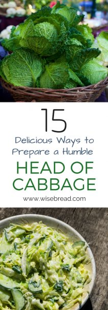 15 Delicious Ways to Prepare a Humble Head of Cabbage
