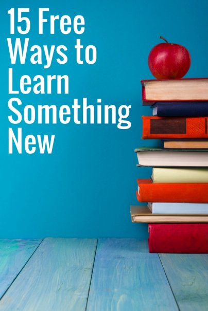 15 Free Ways to Learn Something New