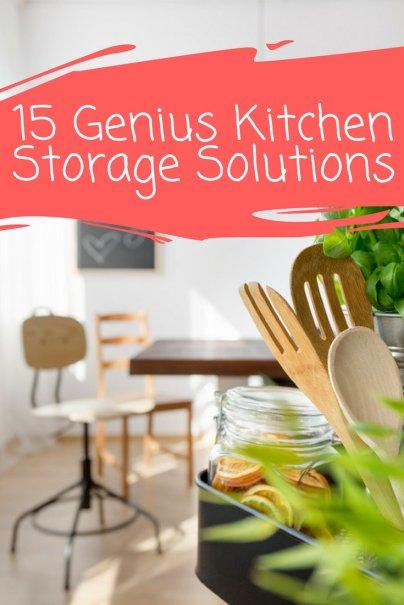 15 Genius Kitchen Storage Solutions