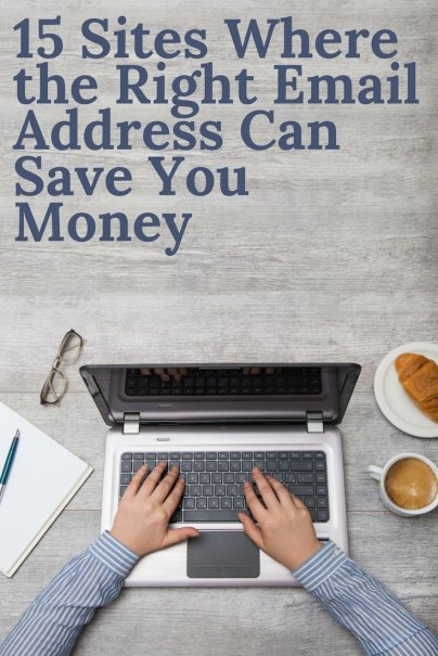 15 Sites Where the Right Email Address Can Save You Money