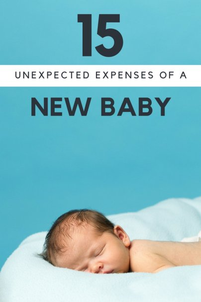 15 Unexpected Expenses of a New Baby