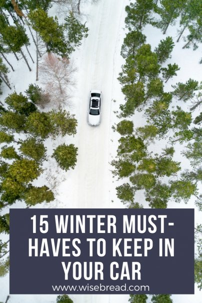 15 Winter Must-Haves to Keep in Your Car