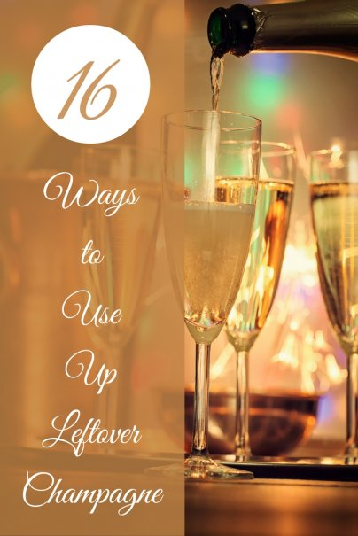 16 Ways to Use Up Leftover Champagne