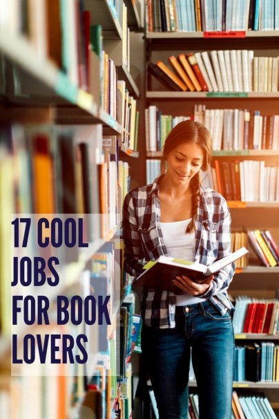 17 Cool Jobs For Book Lovers