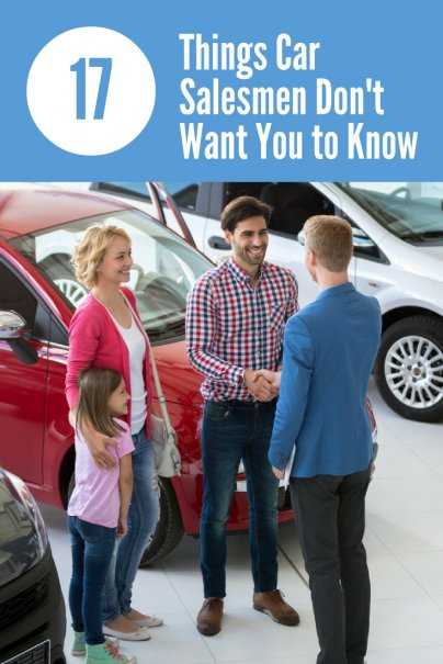 17 Things Car Salesmen Don't Want You to Know