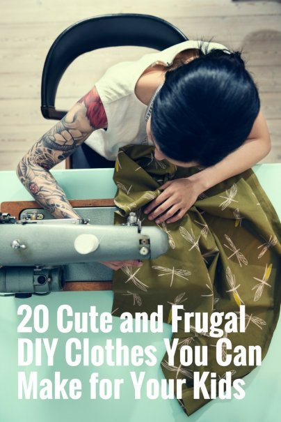 20 Cute and Frugal DIY Clothes You Can Make for Your Kids