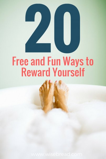 20 Free and Fun Ways to Reward Yourself