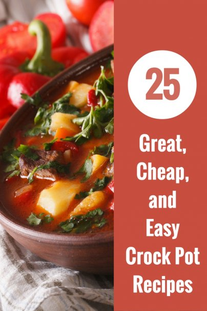 So you don't have to search around the endless recipes on Google or Pinterest, I thought I would put together a group of my favorite 30 Easy Crockpot Recipes for the family. These are all in my regular rotation and are loved by all.