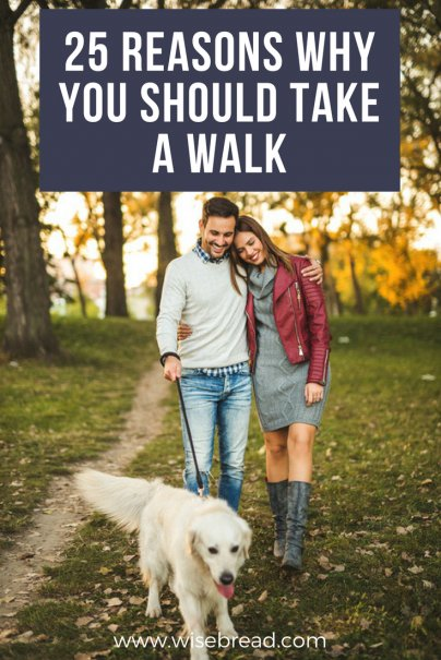 25 Reasons Why You Should Take a Walk