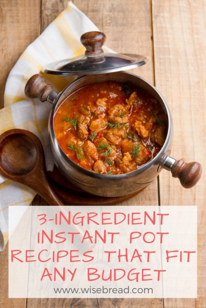3-Ingredient Instant Pot Recipes That Fit Any Budget