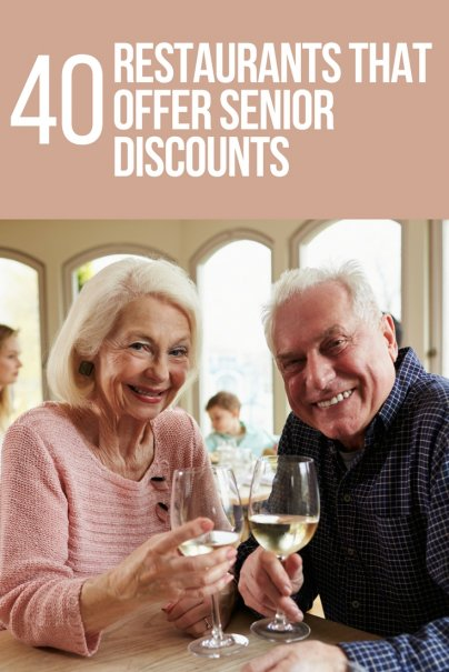 40 Restaurants That Offer Senior Discounts