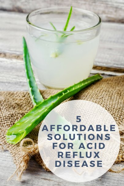 5 Affordable Solutions for Acid Reflux Disease