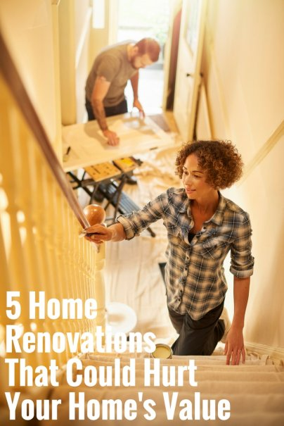 5 Home Renovations That Could Hurt Your Home's Value