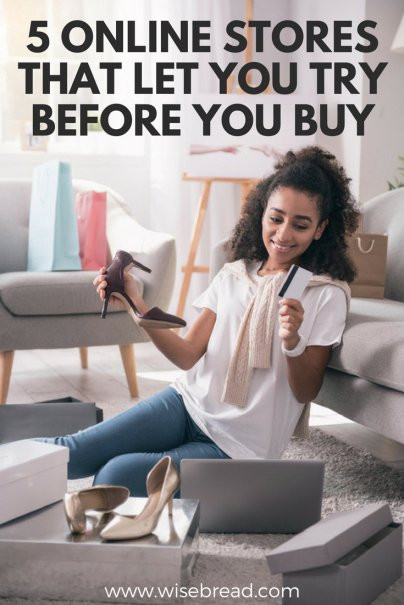 5 Online Stores That Let You Try Before You Buy