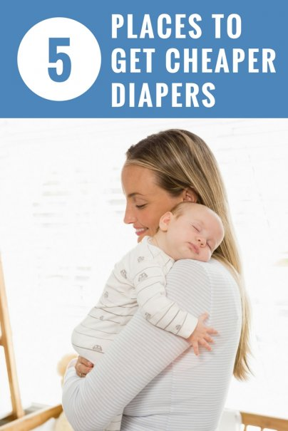 5 Places to Get Cheaper Diapers