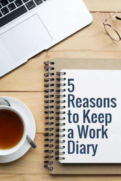 5 Reasons to Keep a Work Diary