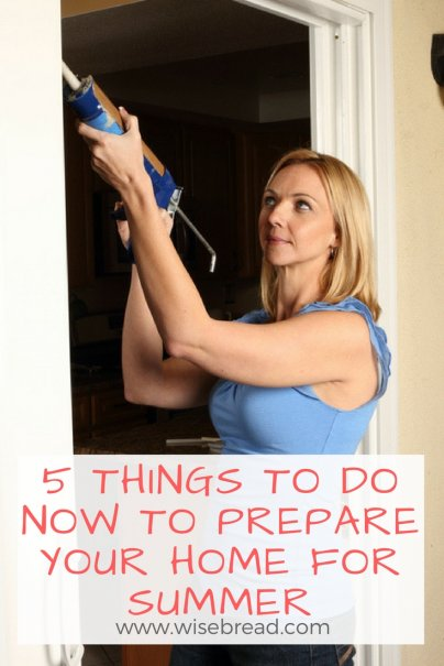 5 Things to Do Now to Prepare Your Home for Summer
