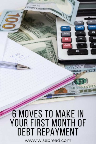 6 Moves to Make in Your First Month of Debt Repayment