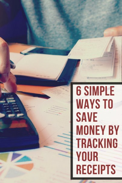 6 Simple Ways to Save Money by Tracking Your Receipts