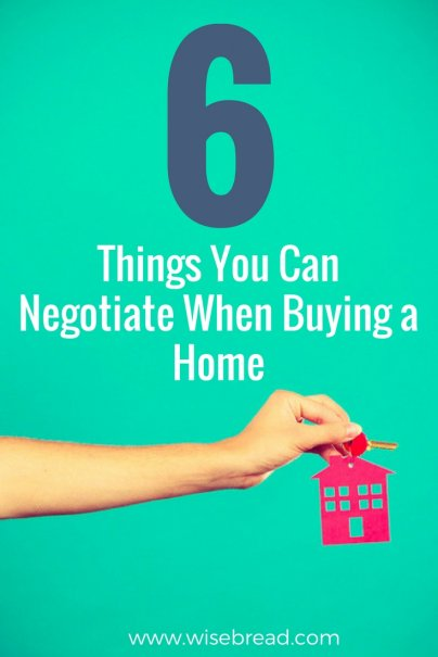 6 Things You Can Negotiate When Buying a Home